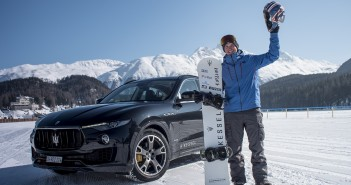 03_Jamie Barrow and Maserati Levante World Speed Record in St. Moritz, Feb.19 2018