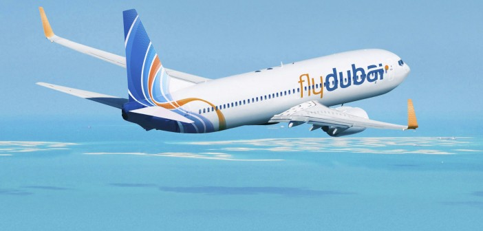 Flydubai JXB 737-800 ArtworkK64500