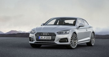 Audi A5 Coupe-front view
