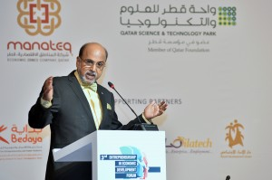 Dr. Seetharaman, CEO of Doha Bank