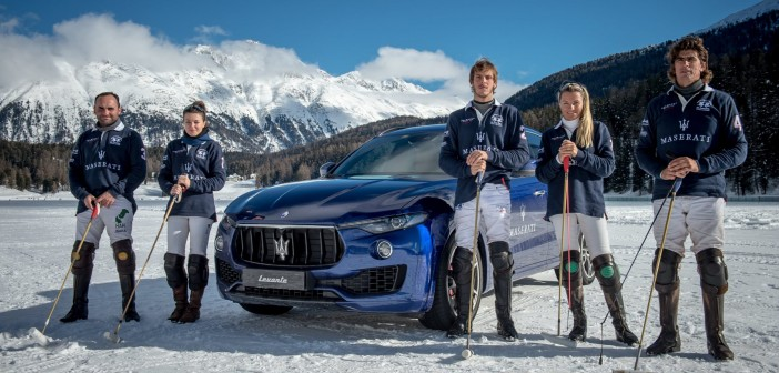 Maserati Polo Team with Levante -3