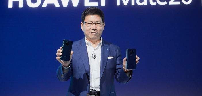 Mr.Richard Yu,CEO of Huawei Consumer Business Group at Huawei Mate 20 Series Launch in London