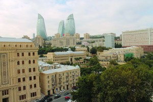 Old and New City Baku